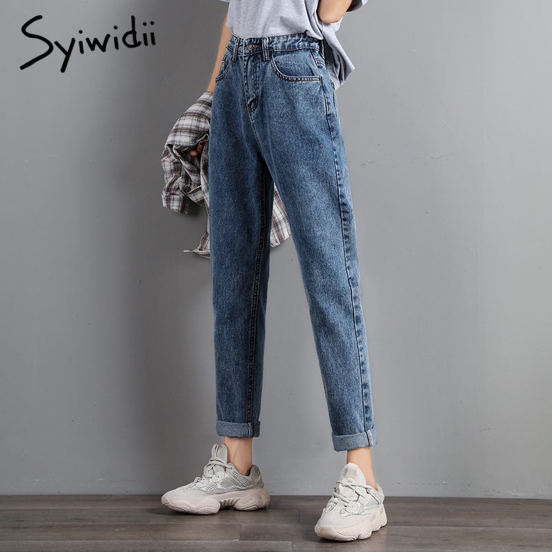 plus-size-Mom-jeans-women-high-waist-boyfriend-jeans-for-women-Harem-Pants-denim-street-style (3)