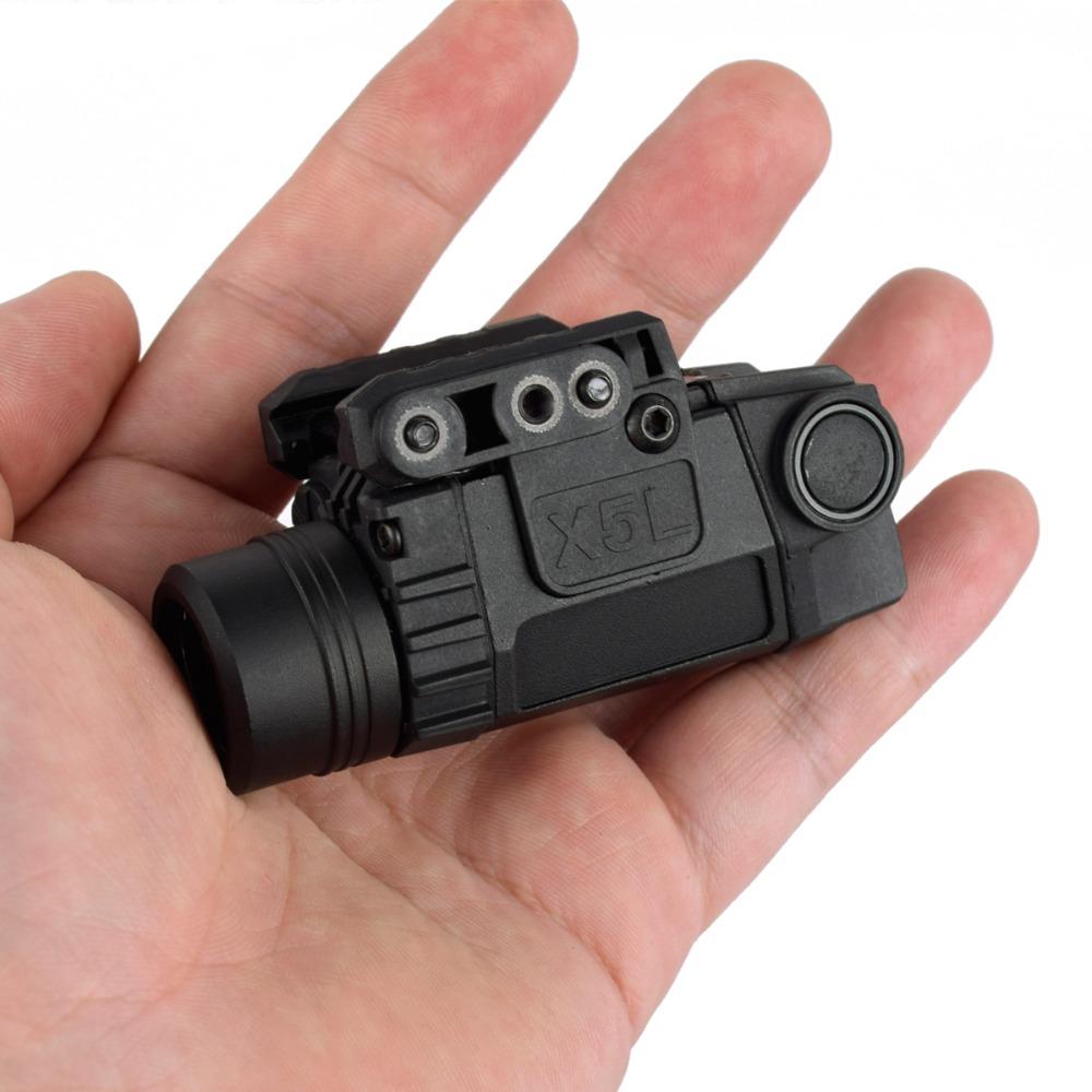 2in1-Tactical-X5L-LED-Flashlight-Combo-Green-Laser-Sight-Universal-Pistol-Gun-Mira-Laser-Pistola-For (3)