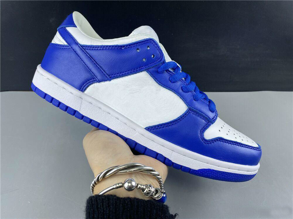 New Dunk blue University orange white low men running shoes women training sports Fashion top quality outdoor trainers with box