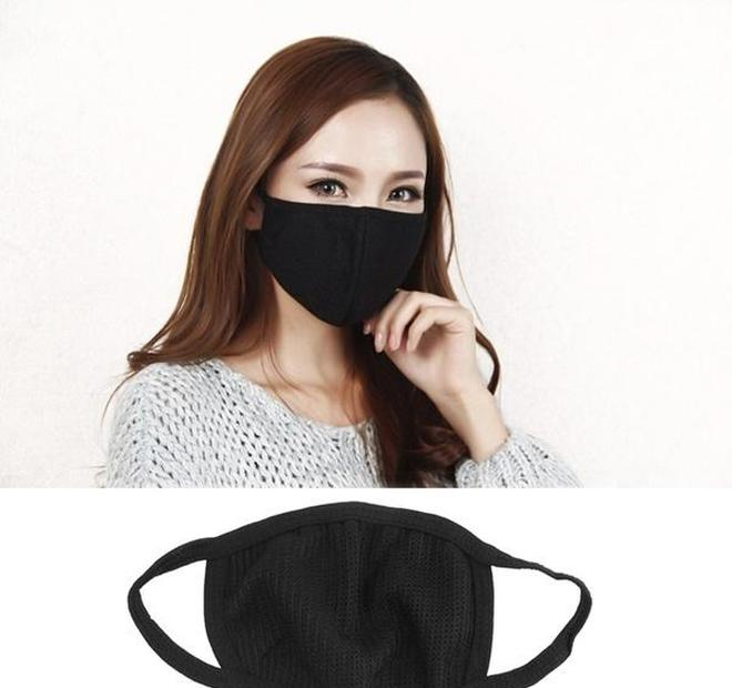 Mask Wearing Fashion Cotton Black Mask Cotton Cycling Unisex Face Mouth Anti-dust homeindustry ZZUGh