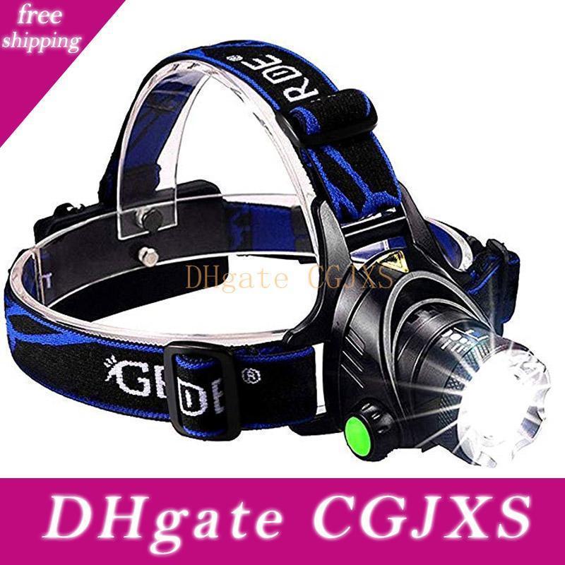 uper Bright 11 Led Cap Light Fishing Headlight Headlamp Head Flashlight P1