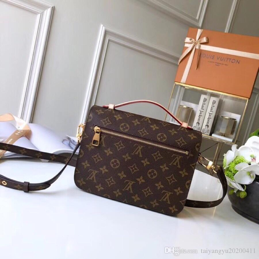 Luxury Classic LOUIS bag leather VUITTON women`s handbag Designer luxury LOUIS V shoulder bags crossbody ba