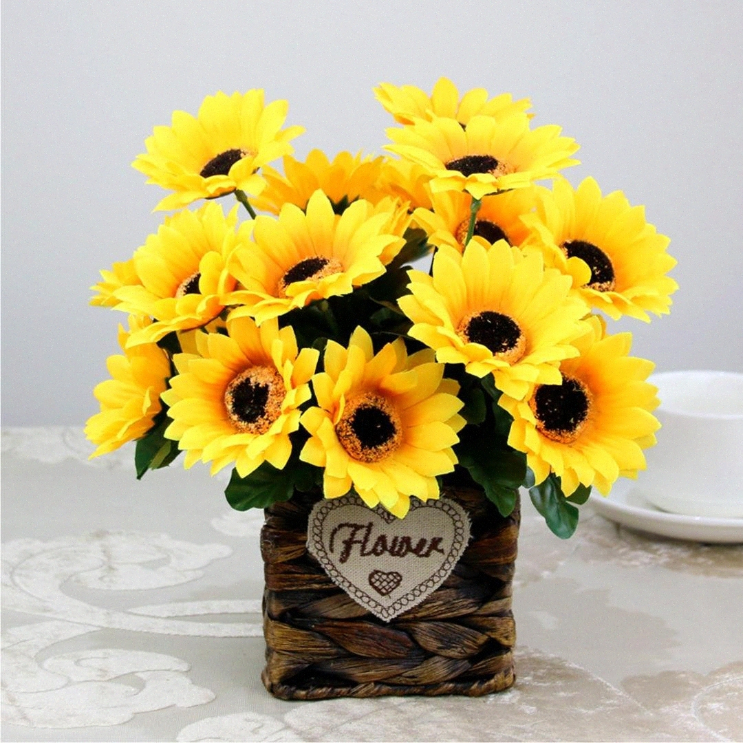 Diy Sunflower Decor Online Shopping Buy Diy Sunflower Decor At Dhgate Com