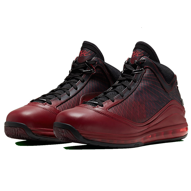 New LeBrons 7 7s fresh bred Fairfax Varsity Red men Basketball shoes king equalit lightyear Mens designer sneakers trainers 40-46
