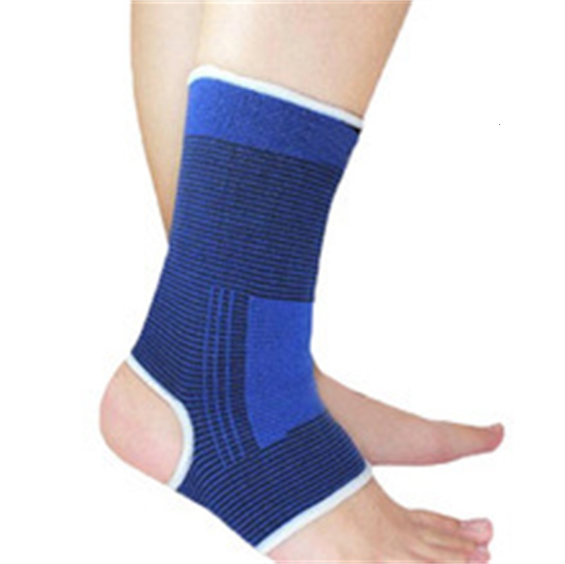 Ankle Support Elastic Band Brace Gym Sports Promotion Protect Tknitting Herapy Pain Keep Warm Sapphire Blue 0 7jr f1