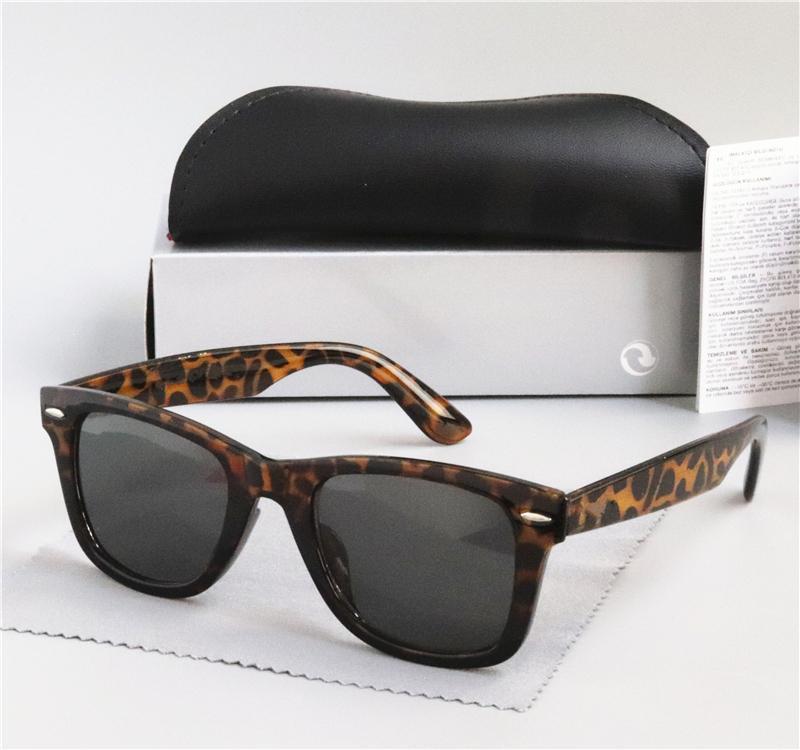 54mm Hot Sale Brand Sunglasses Vintage Pilot Sun Glasses Band Polarized UV400 Men Eyewear Women Ben Sunglasses 2140