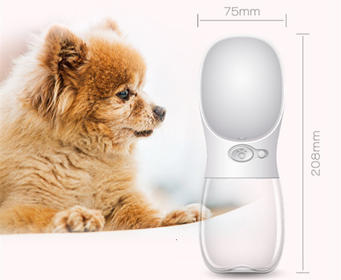 Fedex Dog water bottle Pet Water bottle non-spill Drink Water Bowl Antibacterial Cat Travel Outdoor walking pet-friendly