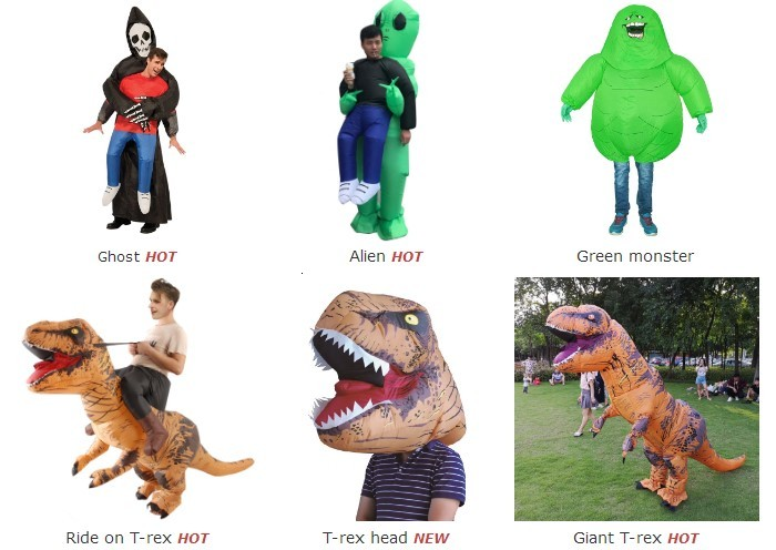 Advertising inflatable dragon costume for party