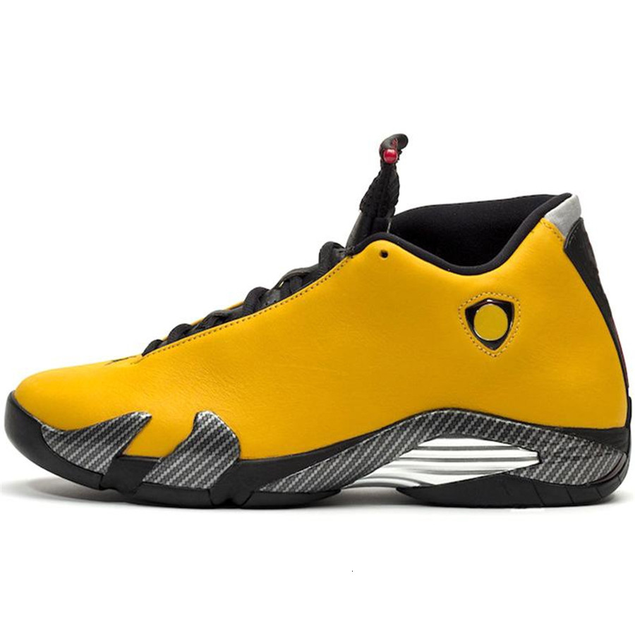 2019 New 14 SE Reverse Ferrar Mens Basketball Shoes 14s Mens basketball sneakers Trainers University Gold US7-13