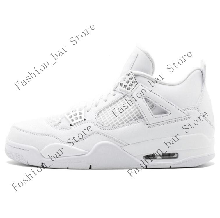 4 4s Metallic Red Black Cat Pure Money 2020 Men Basketball Shoes With Box 5S Fire Red Silver Tongue 11S Low White ConcordConcord