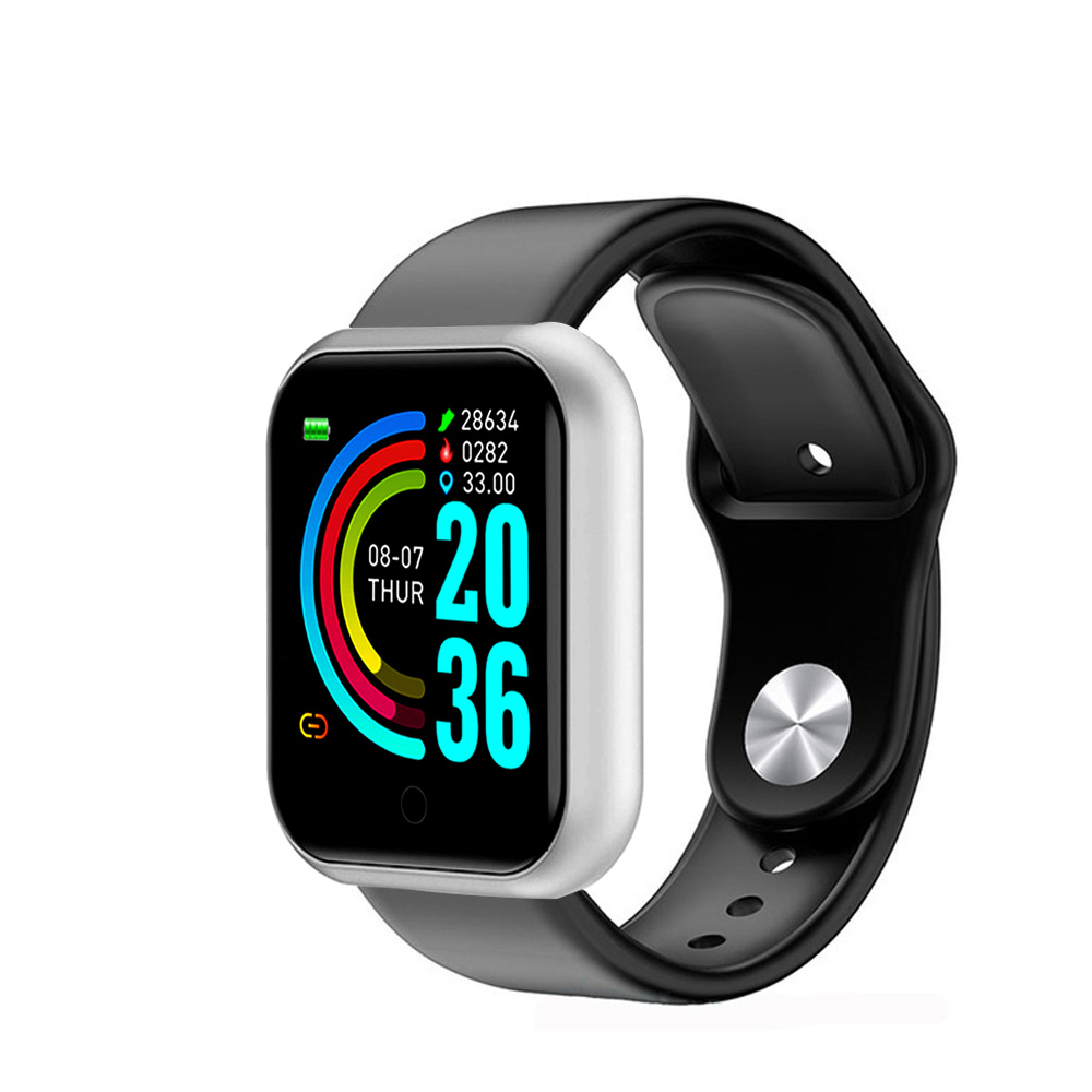 Y68 Smart Watch Women D20 Pro Men Smartwatce for Android IOS Heart Rate Monitor Blood Pressure Sports Tracker Smart Wristband-8