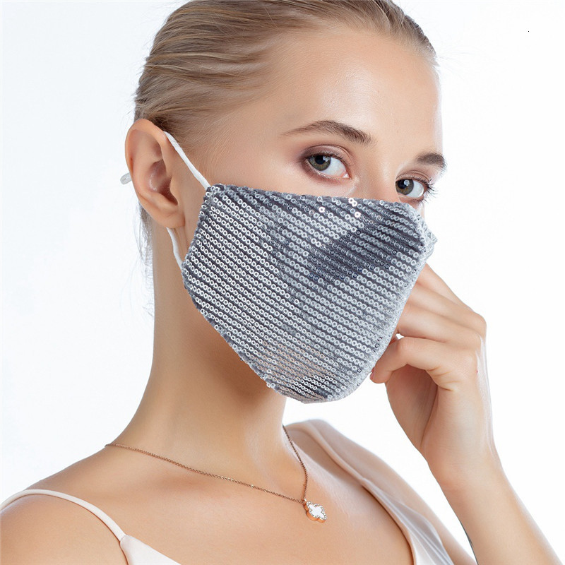 Paillette Personalized printed Dust mask camouflage cotton masks reusable exportable washable Designer Mask T1I1956