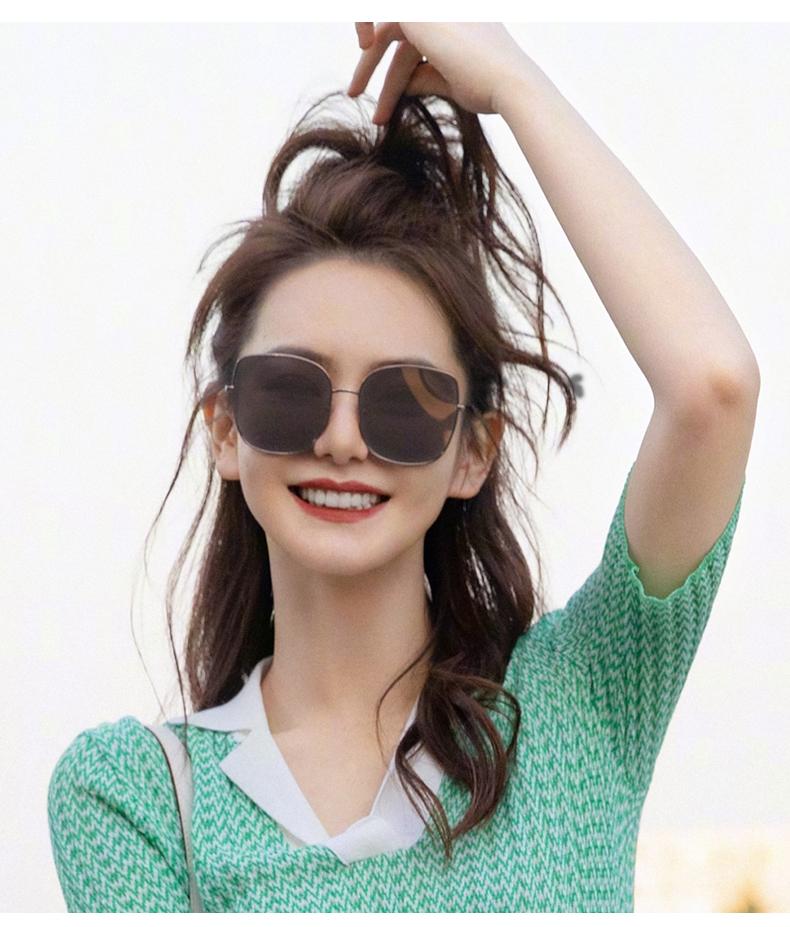 GM Sunglasses Female Qi Wei Celebrity Inspired 2020 New