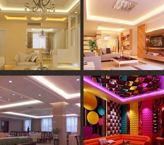 5M SMD 3528 600 LED Strip Light 12V Non-Waterproof Warm White red green blue Indoor Decoration Free DHL