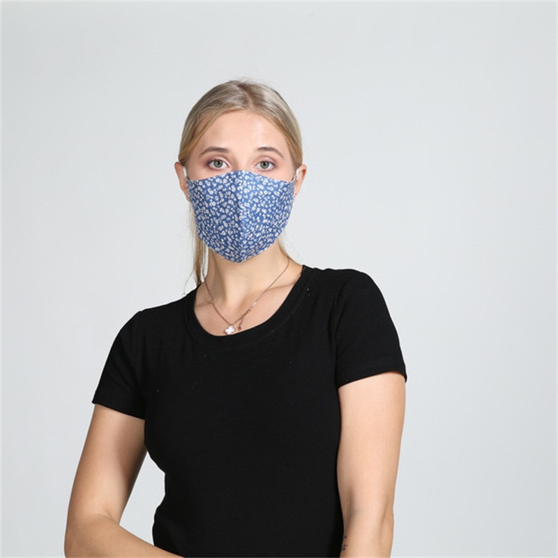 Anti Haze Respirator Windbreak Mascarilla Dustproof Cloth Face Mask Personality Woman Floral Hanging Ear Ventilation In Stock 4 3wha D2
