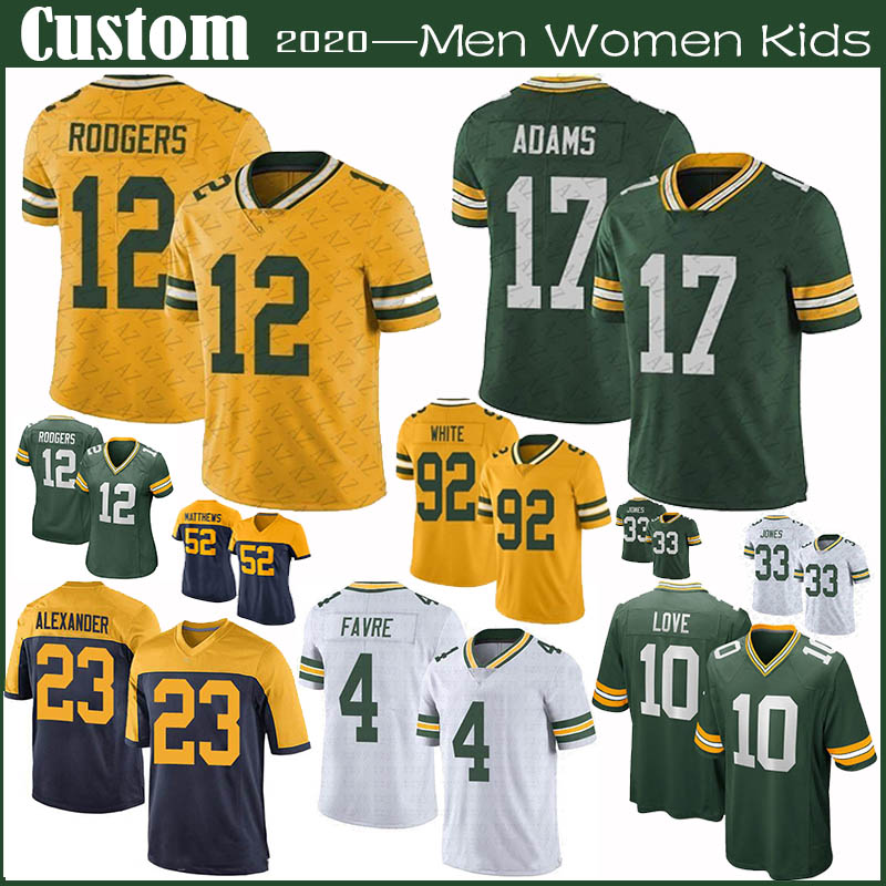 Wholesale Best Packer Jerseys For Single S Day Sales 2020 From Dhgate