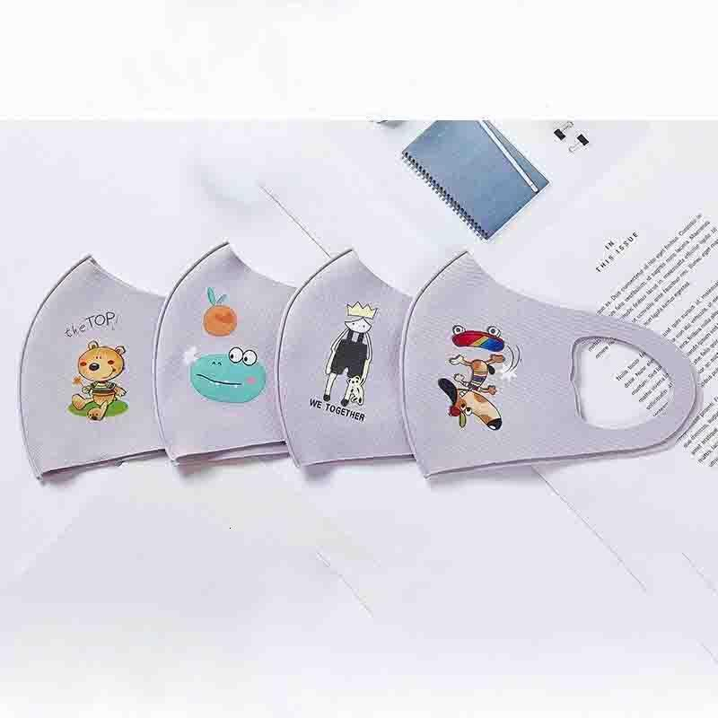 washable reusable ppe kids masks Face Mask Anti Dust Fog Face Mouth Masks Dust-proof breathable and washable Unisex 2020 designer face masks