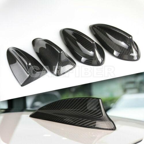 Carbon Fiber Shark Fin Antenna Cover For BMW 1 2 3 5 7 series E60 E70 M5 F15 F01
