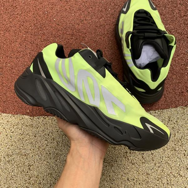 high quality 2020 Kanye West 700 Wave Runner Azael Alien Blue Oat Mist Vanta Running Sports Shoes Mens Womens Outdoors Sneakers Trainers