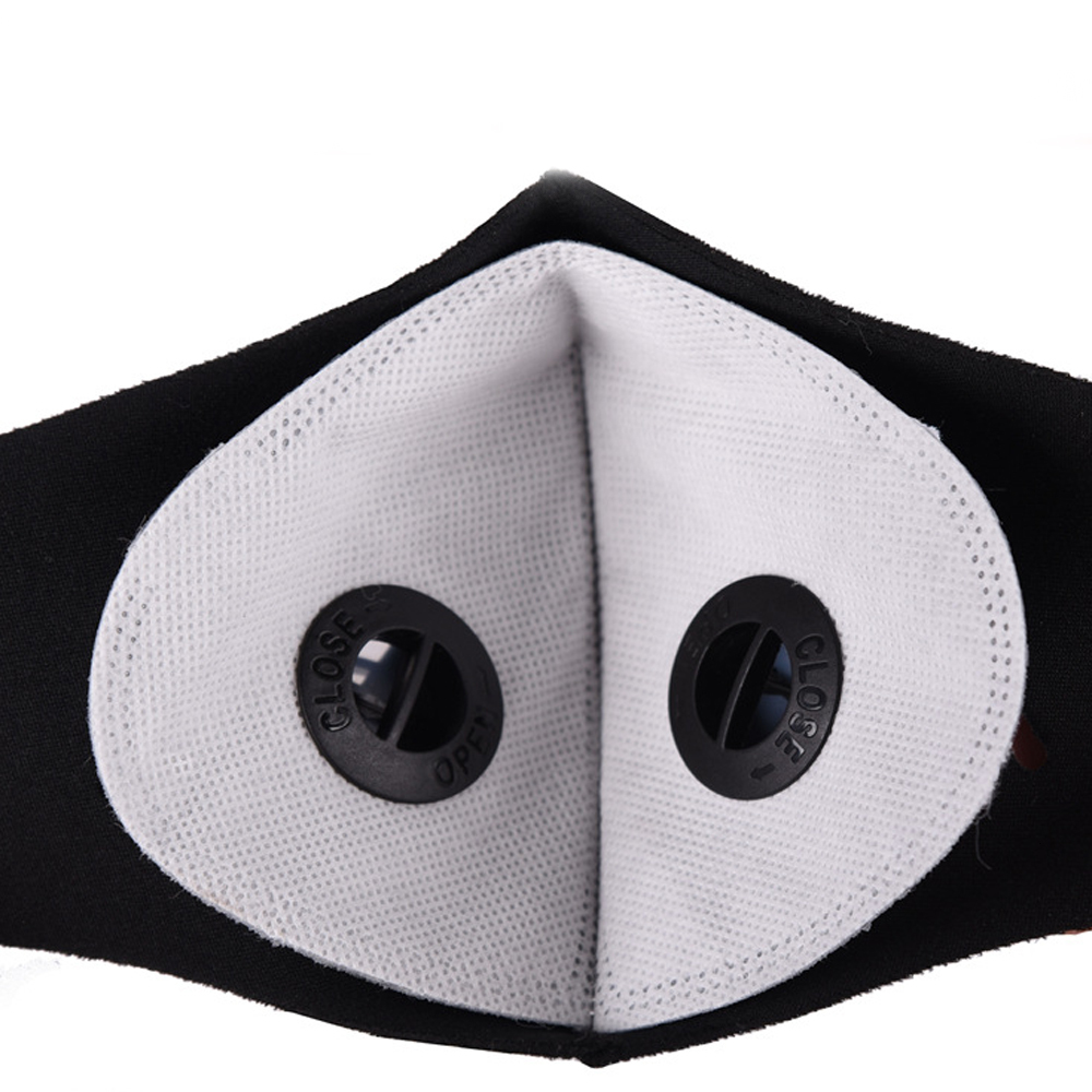 2020 sports Mask Filter PM2.5 Remplacement Filter Cloth for Face Mask Insert 5-layer Protective Anti-fog Haze Dust-proof breathable Filter