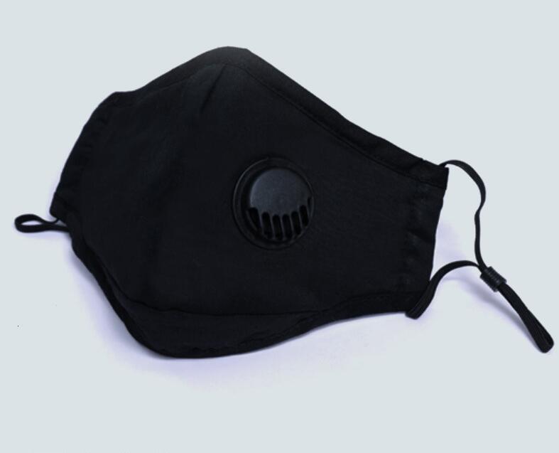 breathing valve PM2.5 summer pure cotton breathable adult children three dimensional filter mask manufacturer direct sales valve