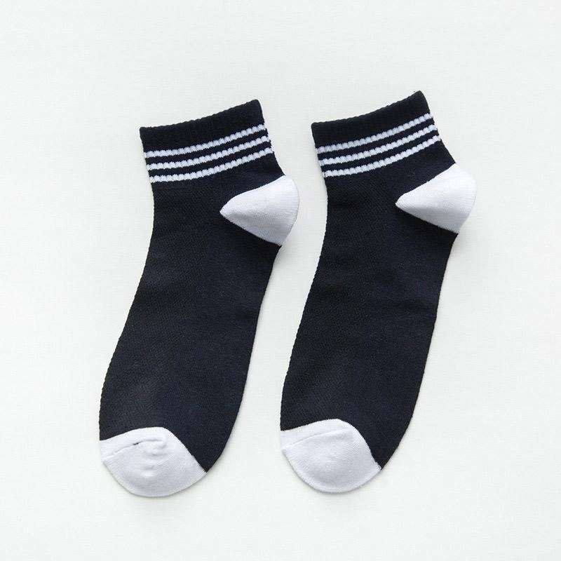 Fashion Non-Slip Men No Show Socks Cotton Breathable Comfortable Boat Socks