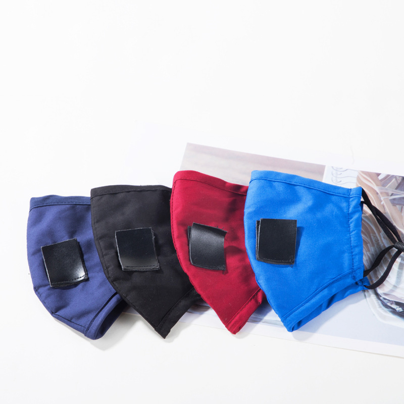 IN Stock Adjustable Double-layer Cotton Cloth Face Mask Straw Mask Dustproof Drink Mask Invisible Straw Reuseable Masks FY6092