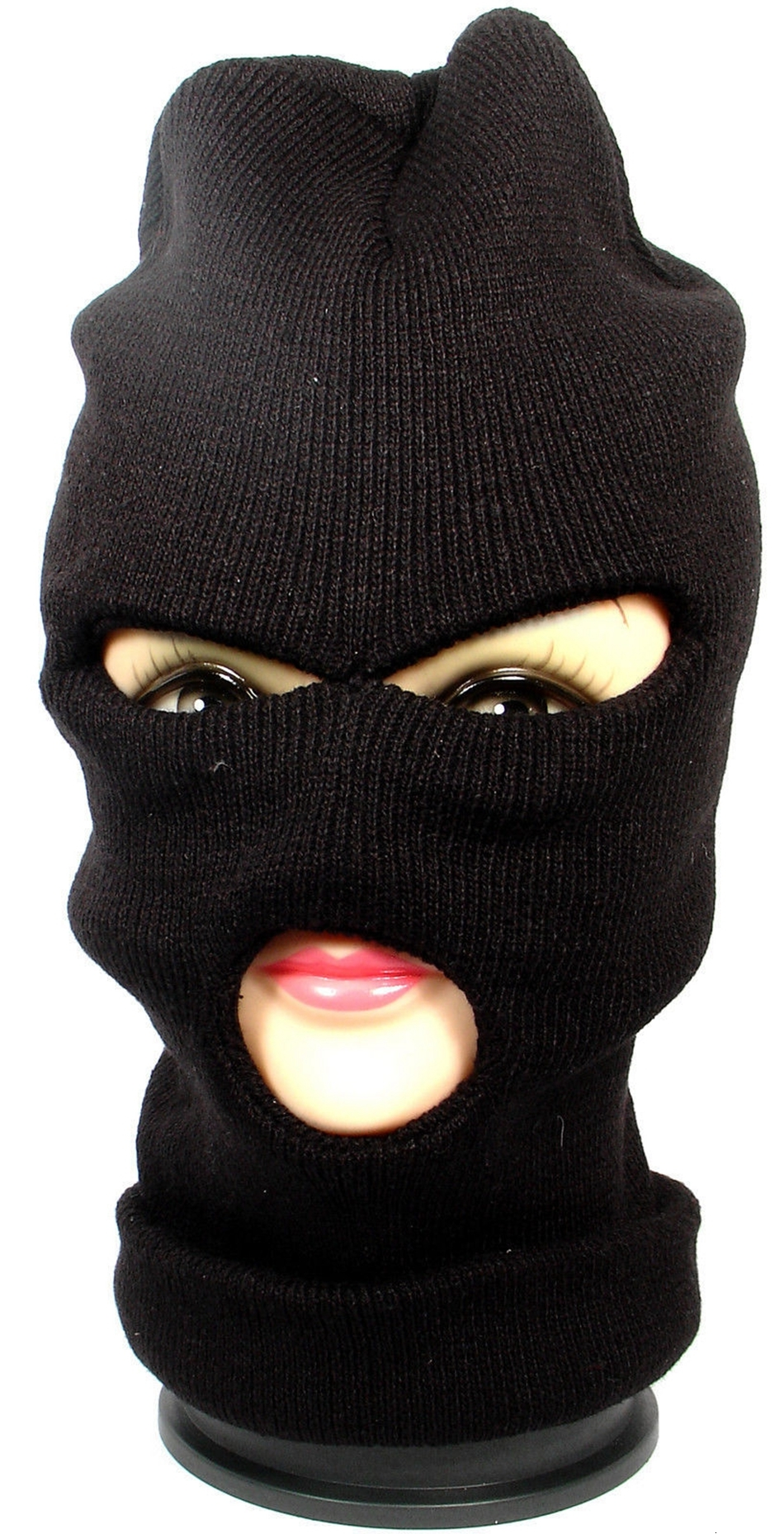 3 Hole Face Mask Beanie Winter Warm Ski Snowboard Hat Cap Wear Balaclava Full Face Cover Mask OOA2985