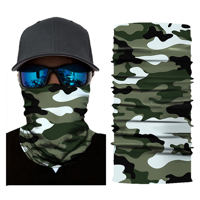 Skull Face Mask Scarf Halloween Party Face Mask Bike Face Mask Ghost Balaclava Masks Cycling Motorcycle Head Scarf Neck #F30ST02 (2)