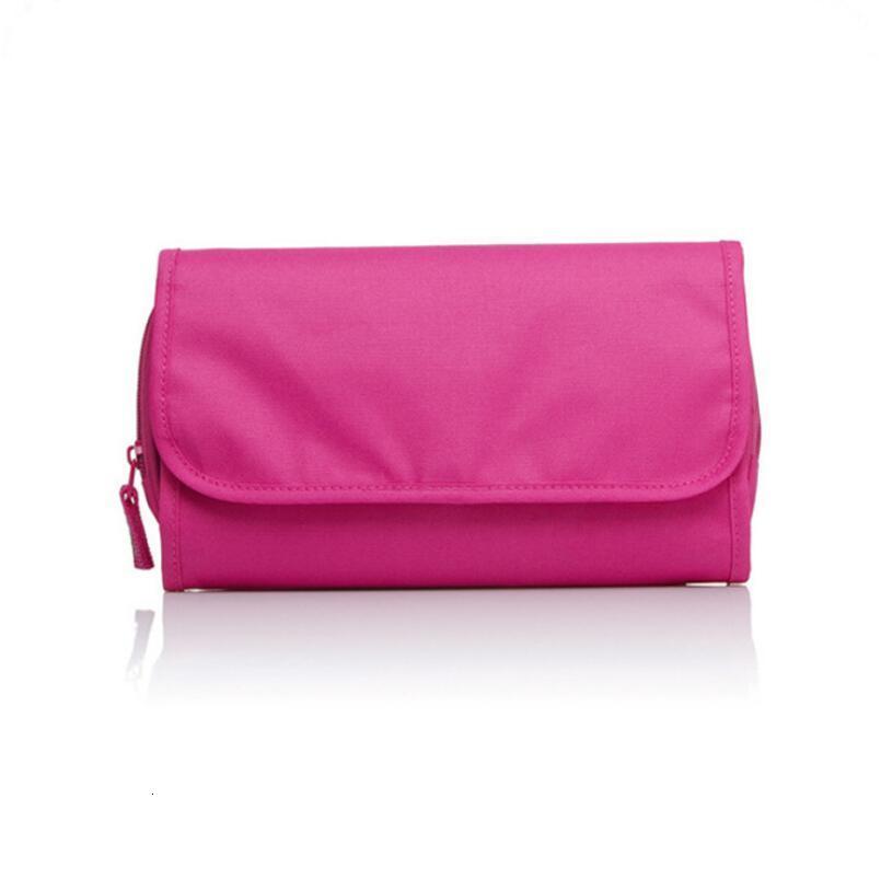 Roll Up Folding Travel Toiletry kit Underwear Storage Organizer Makeup Cosmetic Bag Wash Bag LX5193