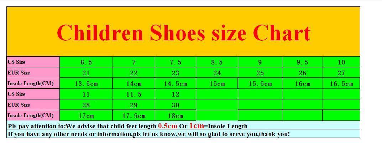 kid shoe size 27 in us
