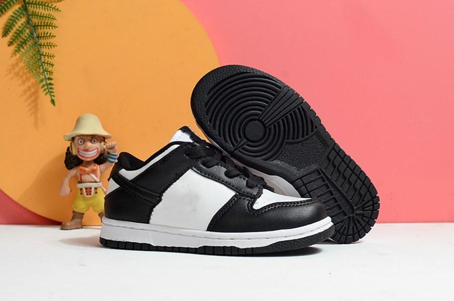 Children's sports shoes SB Dunks Chunky Dunky University Red Low White Brazil Pulse Black Orange Pine green Boys and girls running shoes