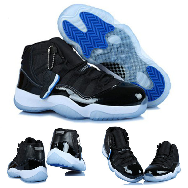 New 11 High Bred True Red Black Space Jams 11s Basketball Shoes Men Women Space Jam Sneakers us 5.5-13