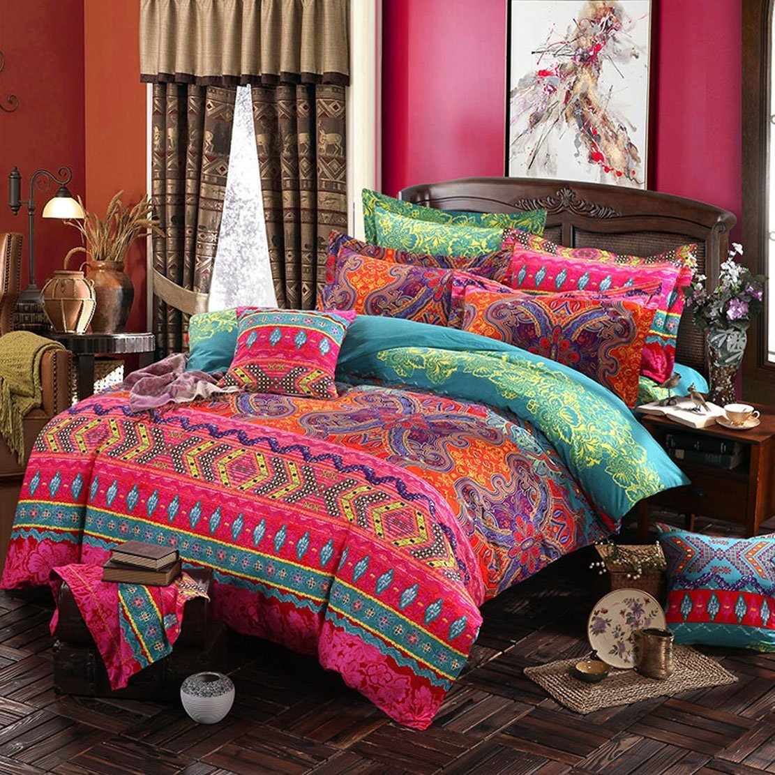 Wholesale Bohemian Comforter Sets Queen Buy Cheap In Bulk From China Suppliers With Coupon Dhgate Com