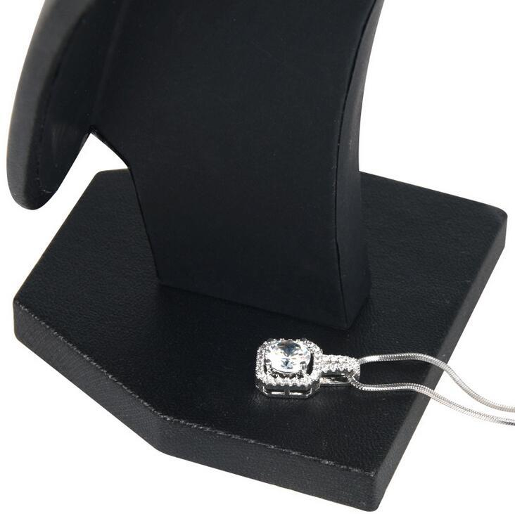 Jewelry Stand Organizer Model Bust Show Exhibitor 6 Options Black Velvet Display