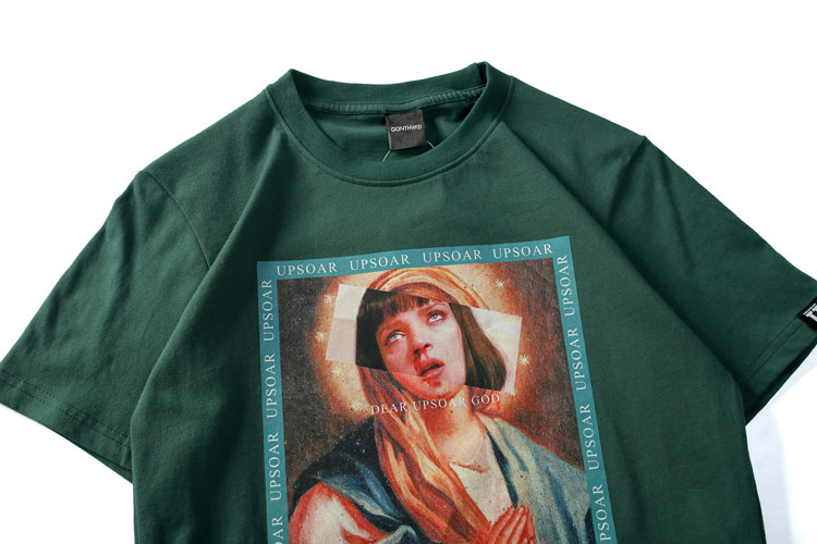 Virgin Mary Men\`s T-Shirts 4