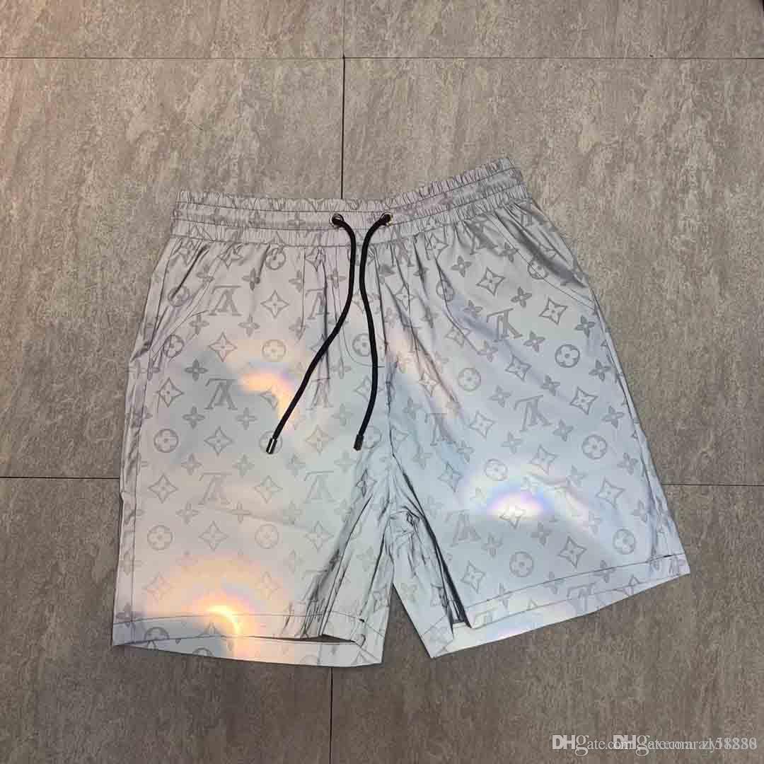 2019 mensentwerfer sportswear kleidung sommer-kurzschlusshosen männer  verfolgen frauen luxus-kleidung frau art und weise kleidet trainingshosen  tops