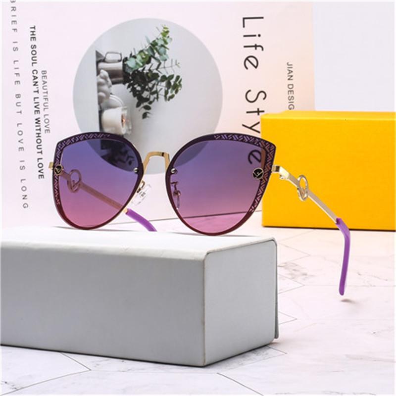Fashion Oversized metal Sunglasses Vintage Large Frame Plank Lightweight Sunglass Men Women Retro Adumbral Sun Glass no box