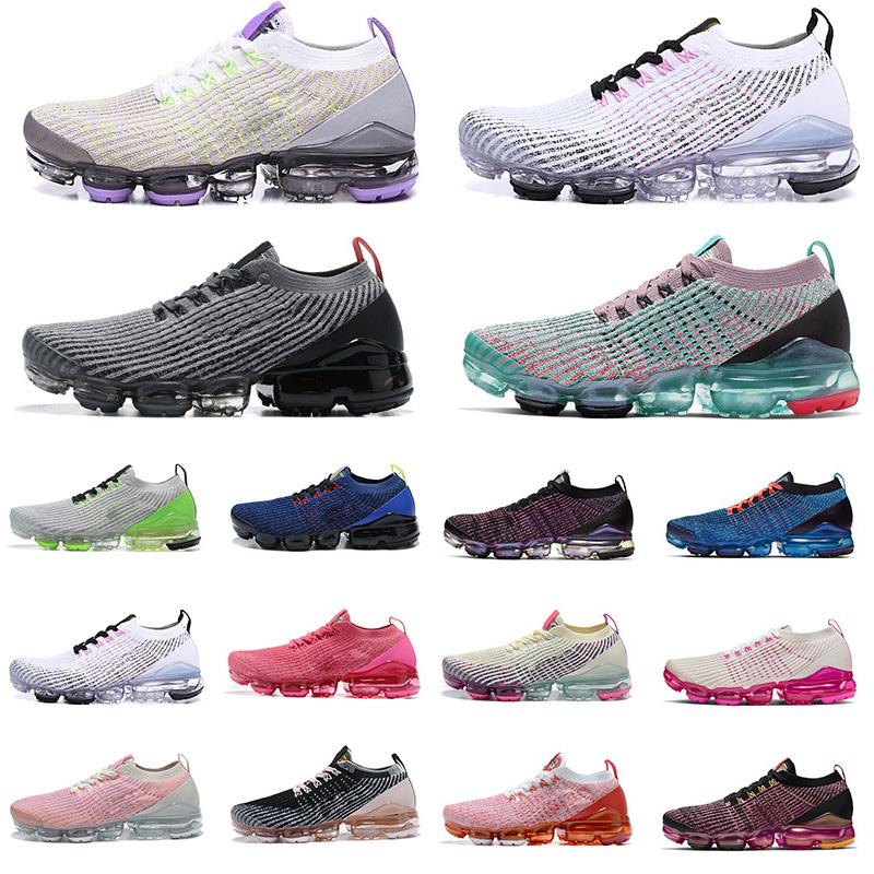 2021 discount max air vapor shoes 3.0 outdoor mens womens trainers USA Triple Black Baltic Blue fashion men women sports sneakers
