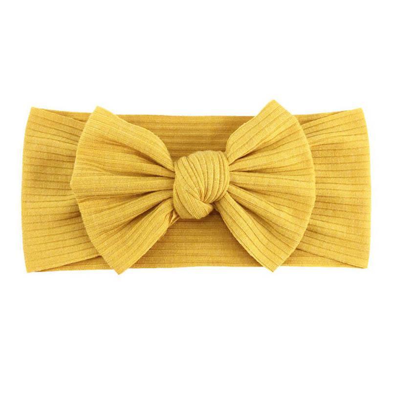 INS bowknot baby headbands handwork bows Newborn designer headbands girls designer headband baby girl hair accessories kids headband B1756