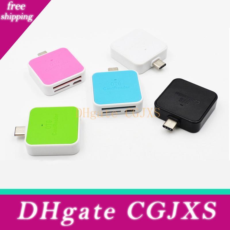High Speed Type-C Card Reader USB3.0 Mini Multi-Function Micro USB OTG Mobile Phone Card Reader