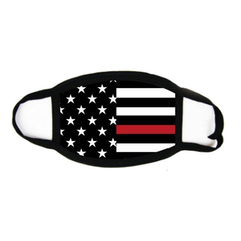 Face Masks Trump American Election Supplies Dustproof Print Mask Universal For Men And Women American Flag Mask