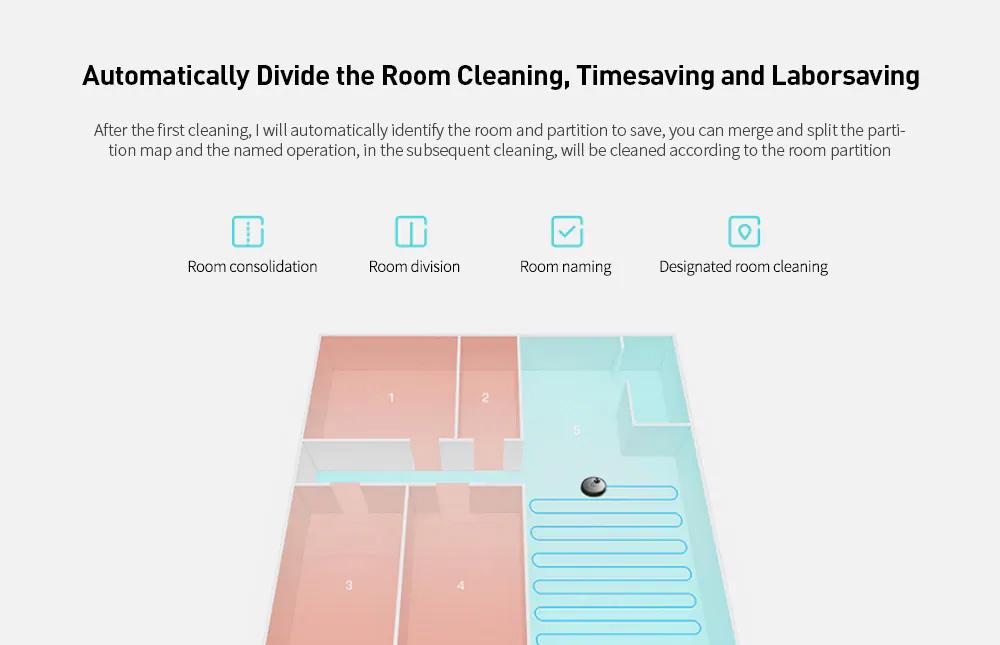 VIOMI V2 PRO LDS 2 in 1 Sweeping Mopping Dust Collector, Home floor Carpet Smart Robot Vacuum Cleaner,Quiet, Mijia APP Control 10