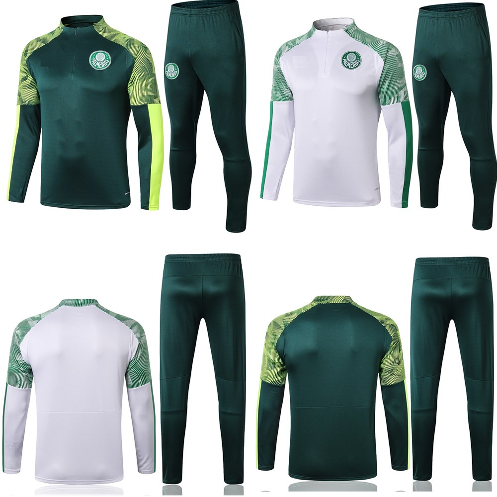 New 2020 2021 adult kit Long sleeves Palmeiras jacket uniforms tracksuits soccer jersey 20 21 train football coat training suit