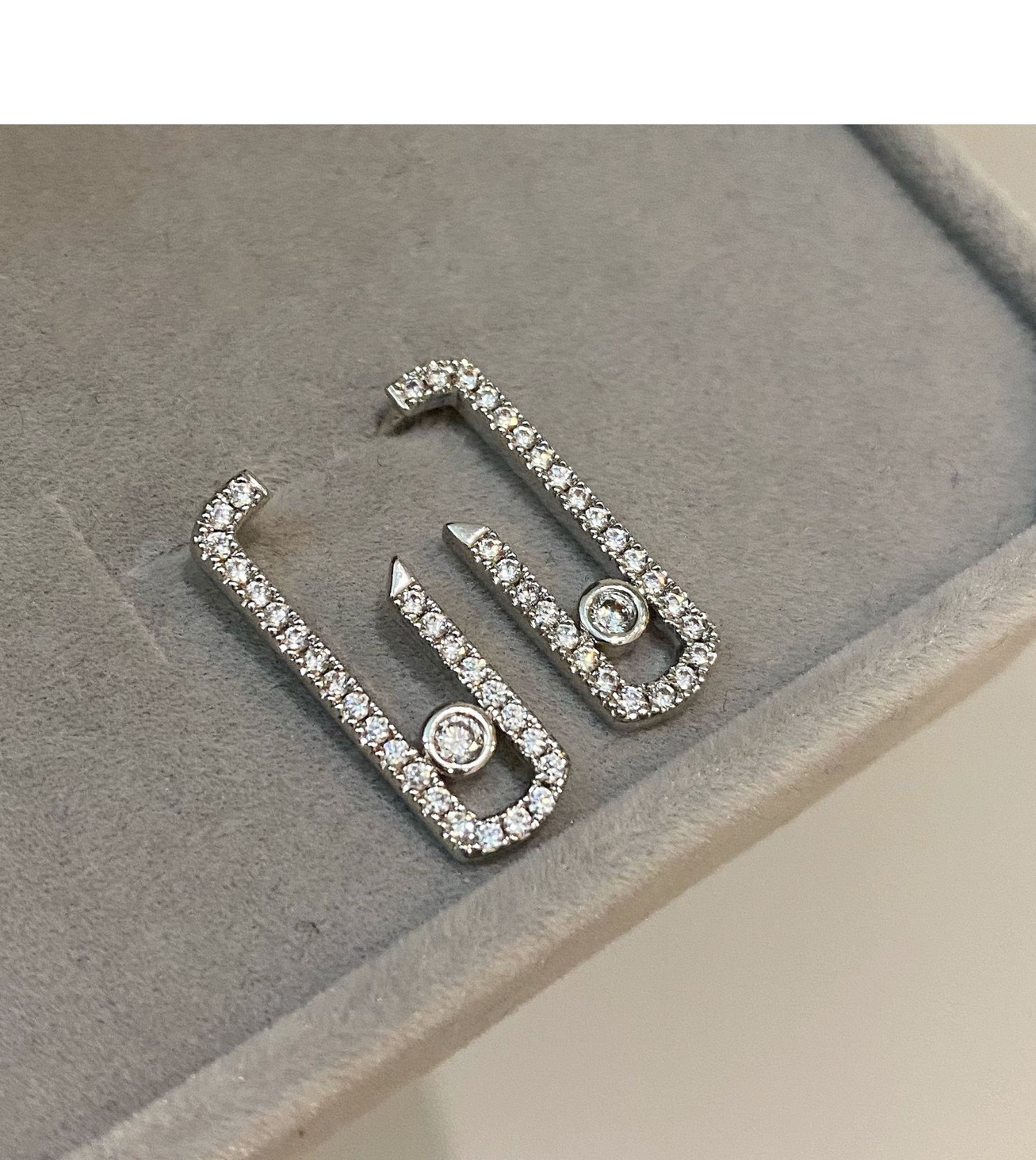 Original Earring Graphic Design Stylish and simple earrings Move Addiction Move Drop Valentine Earring CX200623