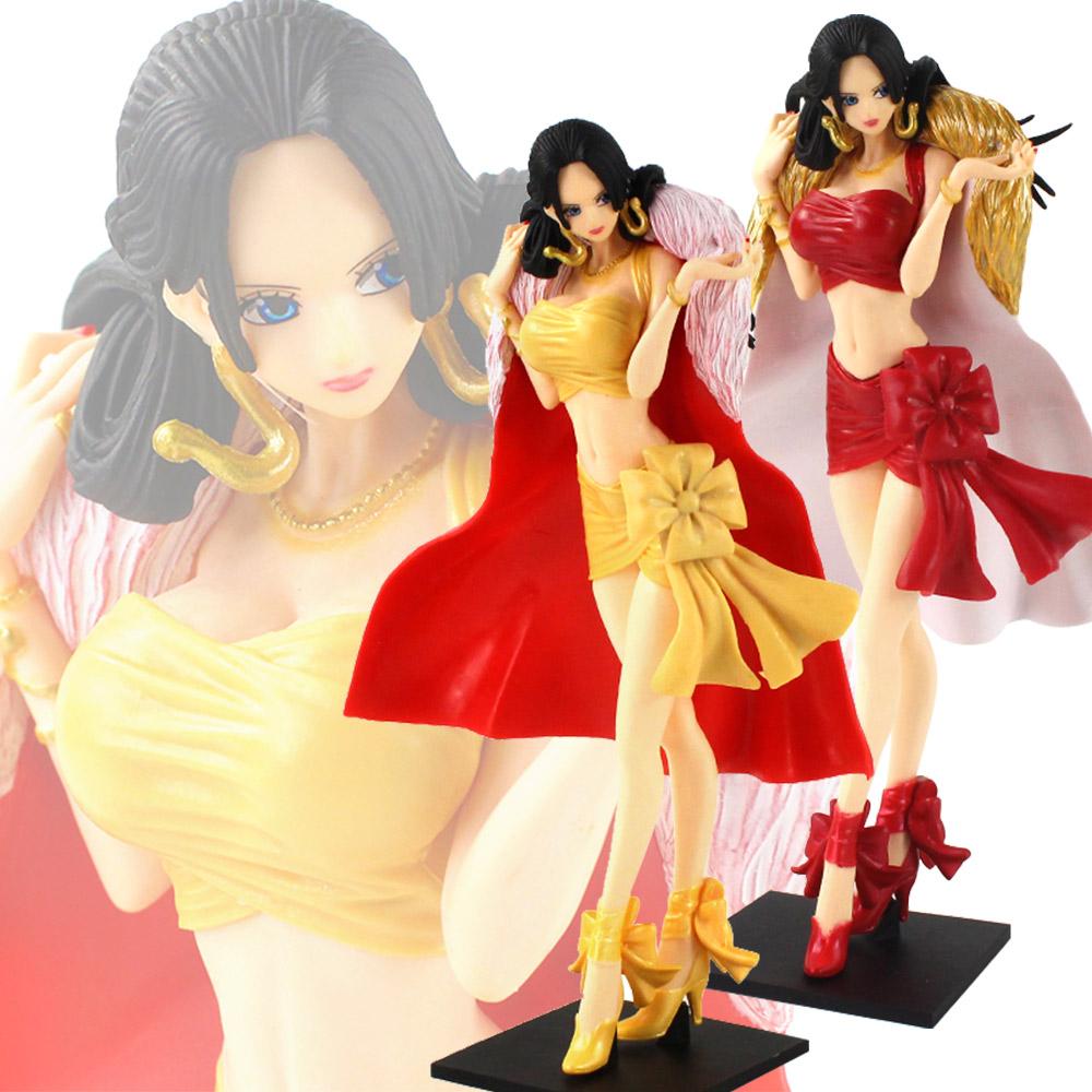 Anime One Piece Portrait of Pirates Boa Hancock Red Dress Ver PVC Figure In Box