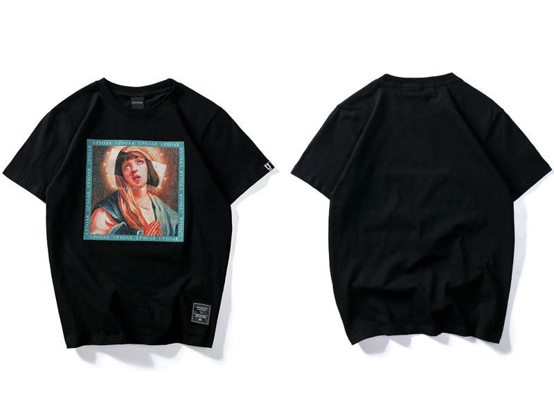 Virgin Mary Men\`s T-Shirts 3