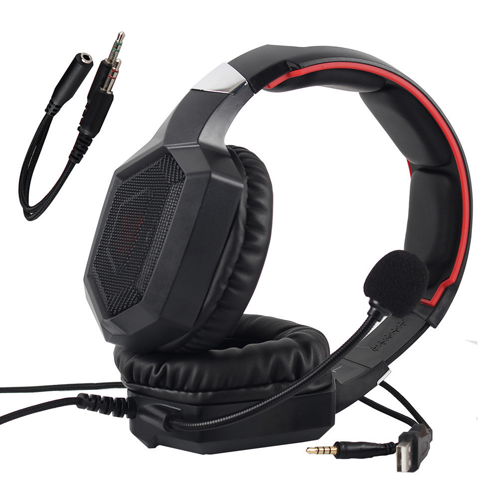 3.5mm Gaming Headphones casque Stereo Earphone Headset with Mic LED Light for Laptop Tablet PS4 Gamepad (9)