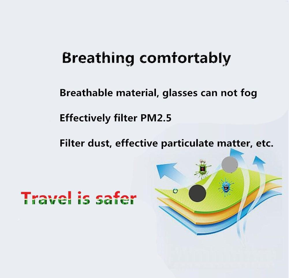 Women Cropped Anti-fog Breathable Version Pm2.5 Mask Respiratory Valve 3d Haze Upgraded Men Hot Pollen Dust Dust Mask pEMNX wrhome