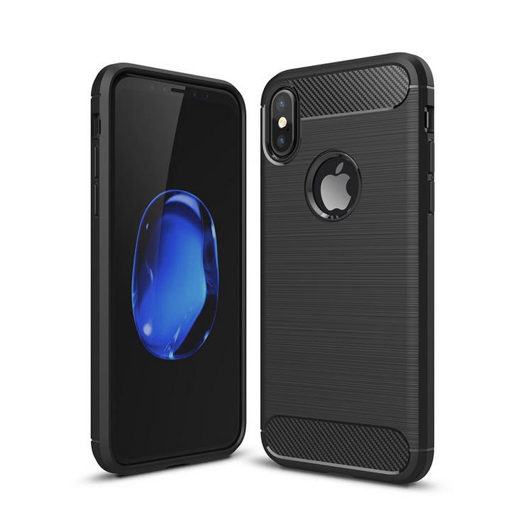 Carbon Fiber Case For iPhone 11 Pro XR XS Max 6 7 8 Plus Phone Cover